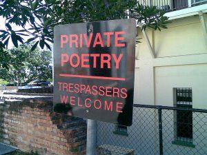 Poetry at Powerhouse Brisbane